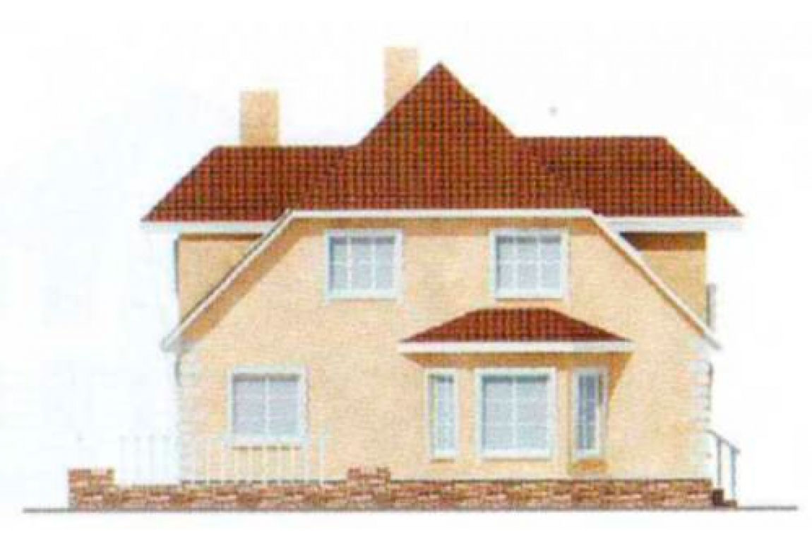 Проект дома из блоков АСД-1221 (uploads/gss/goods/221/big_4.jpg).
