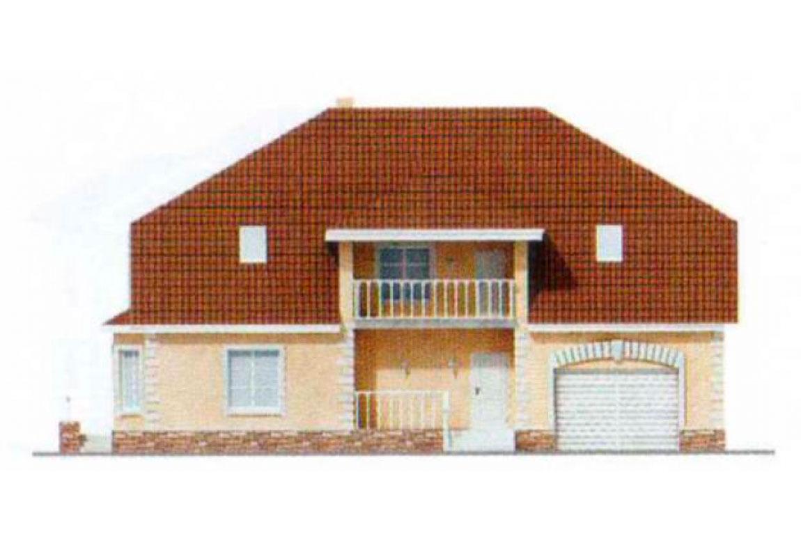 Проект дома из блоков АСД-1221 (uploads/gss/goods/221/big_5.jpg).