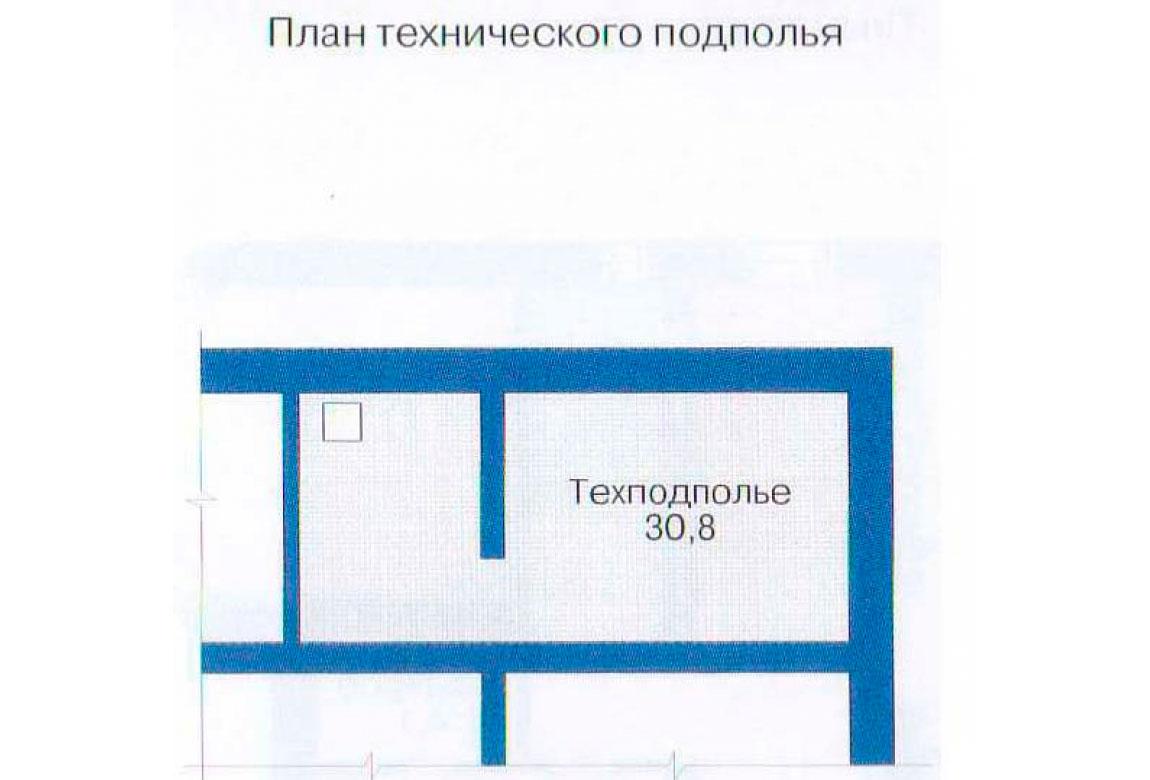План N3 проекта дома из блоков АСД-1221