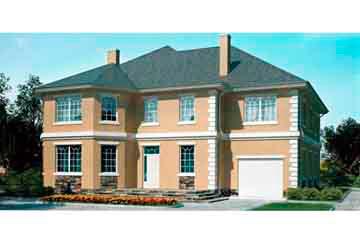 Проект дома из блоков АСД-1223