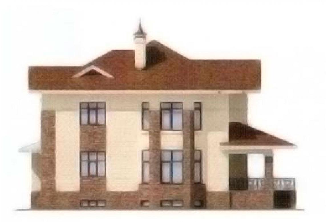 Проект дома из блоков АСД-1224 (uploads/gss/goods/224/big_4.jpg).