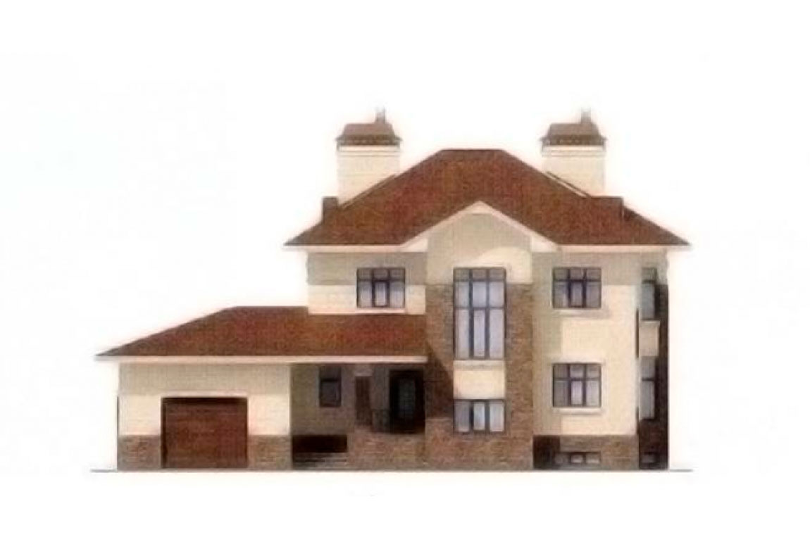 Проект дома из блоков АСД-1224 (uploads/gss/goods/224/big_5.jpg).
