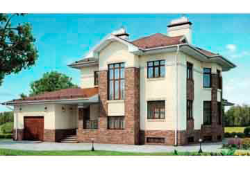 Проект дома из блоков АСД-1224