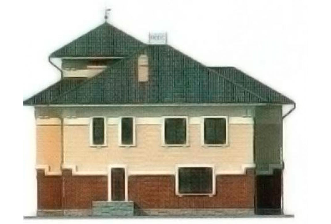 Проект дома из блоков АСД-1226 (uploads/gss/goods/226/big_2.jpg).