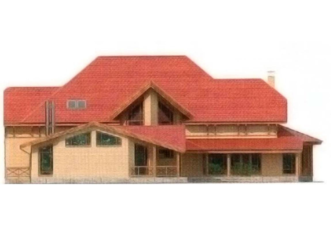 Проект дома из блоков АСД-1229 (uploads/gss/goods/229/big_3.jpg).