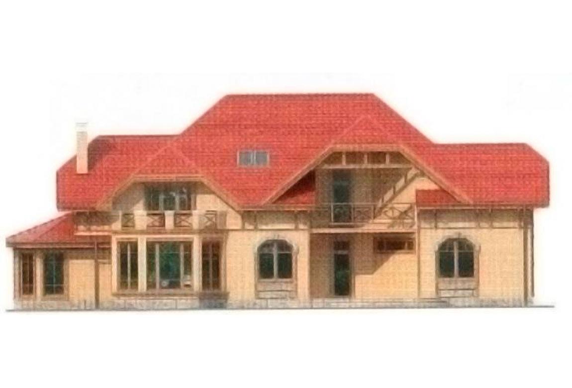 Проект дома из блоков АСД-1229 (uploads/gss/goods/229/big_5.jpg).