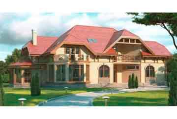 Проект дома из блоков АСД-1229