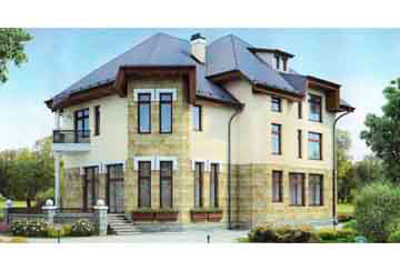Проект дома из блоков АСД-1230