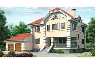 Проект дома из блоков АСД-1231