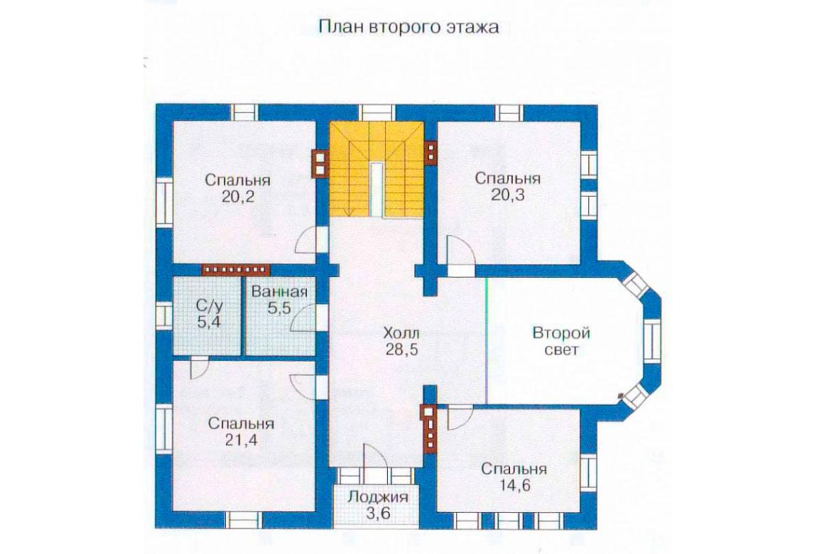 План N1 проекта ВИП дома АСД-1232