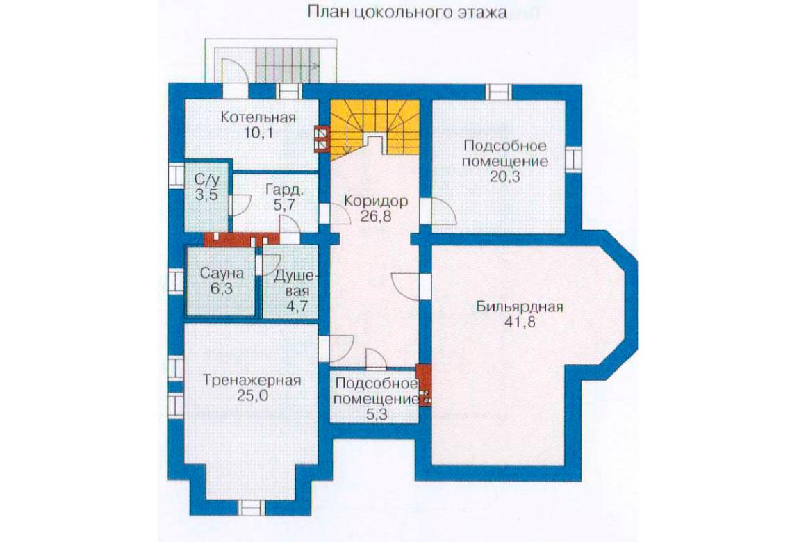 План N3 проекта ВИП дома АСД-1232