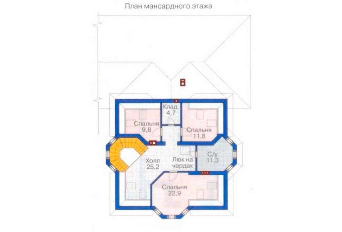 План N2 проекта ВИП дома АСД-1234