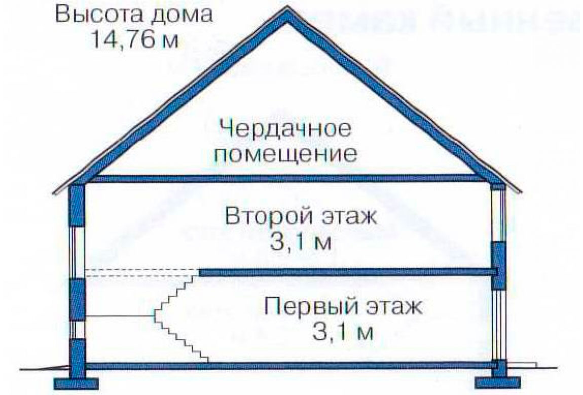План N3 проекта ВИП дома АСД-1235