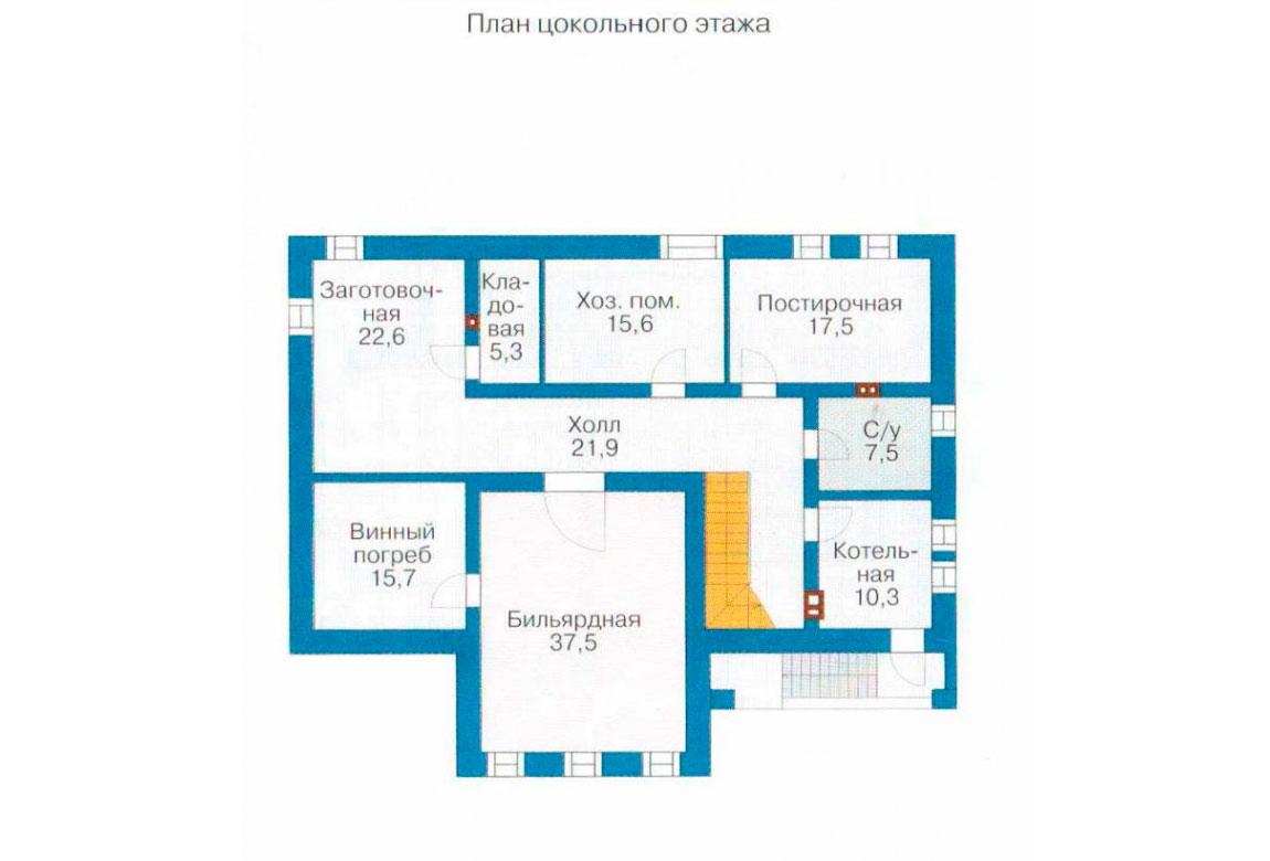 План N3 проекта ВИП дома АСД-1236