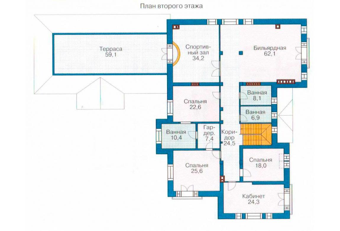 План N2 проекта ВИП дома АСД-1238