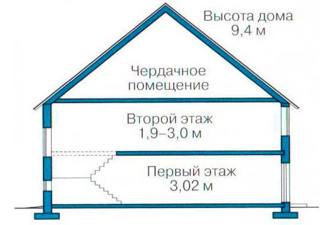 План N3 проекта ВИП дома АСД-1238