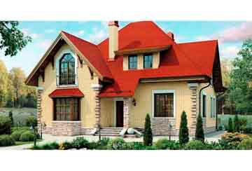 Проект кирпичного дома АСД-1024