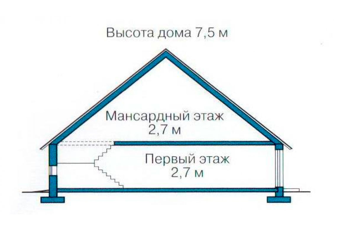 План N3 проекта дома из СИП-панелей АСД-1240
