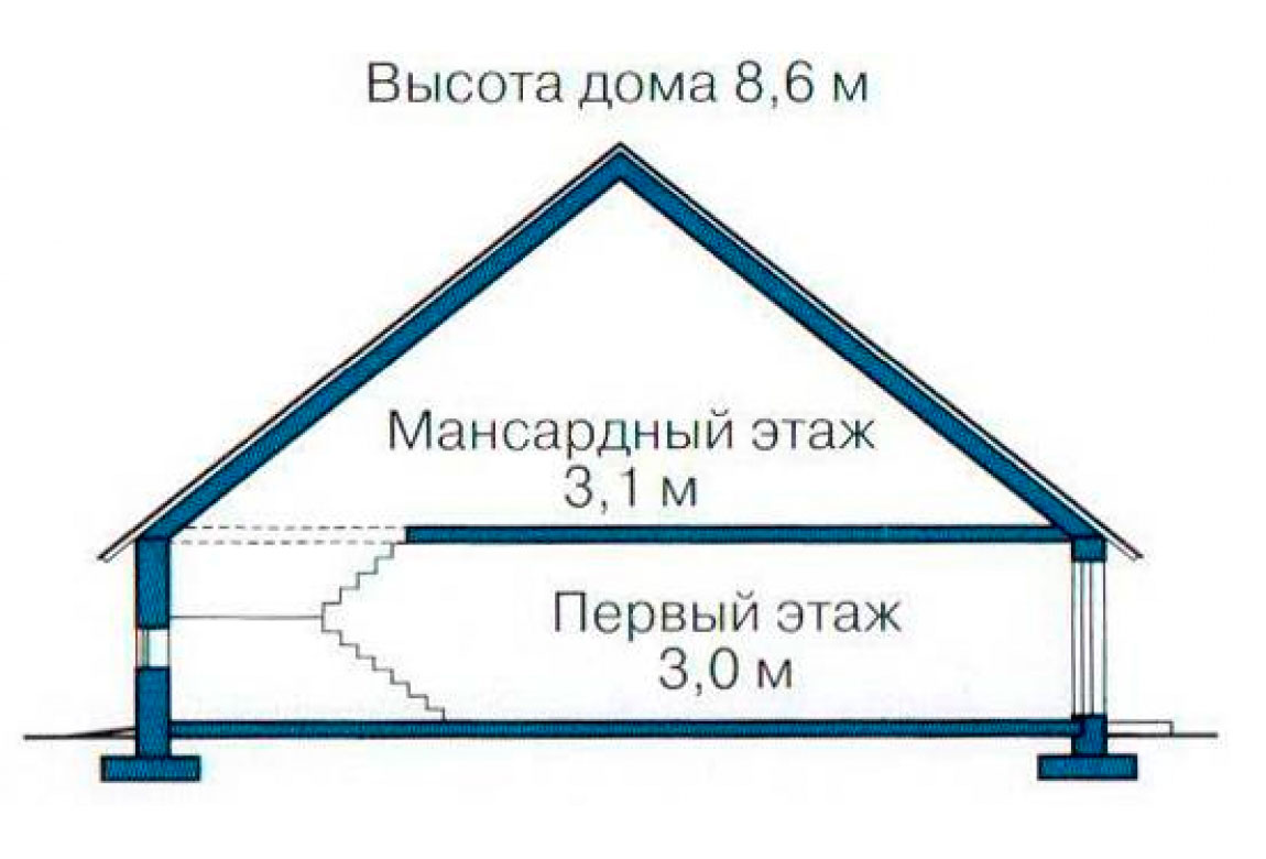 План N3 проекта дома из СИП-панелей АСД-1241