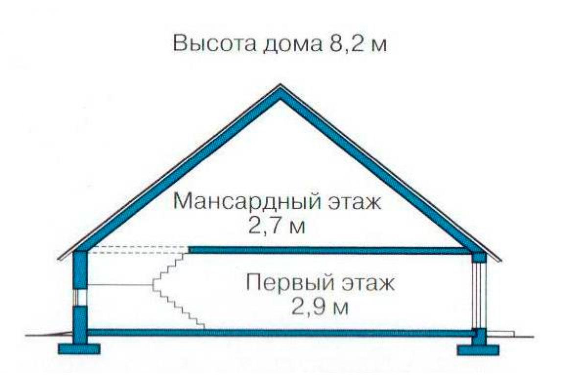 План N3 проекта дома из СИП-панелей АСД-1242