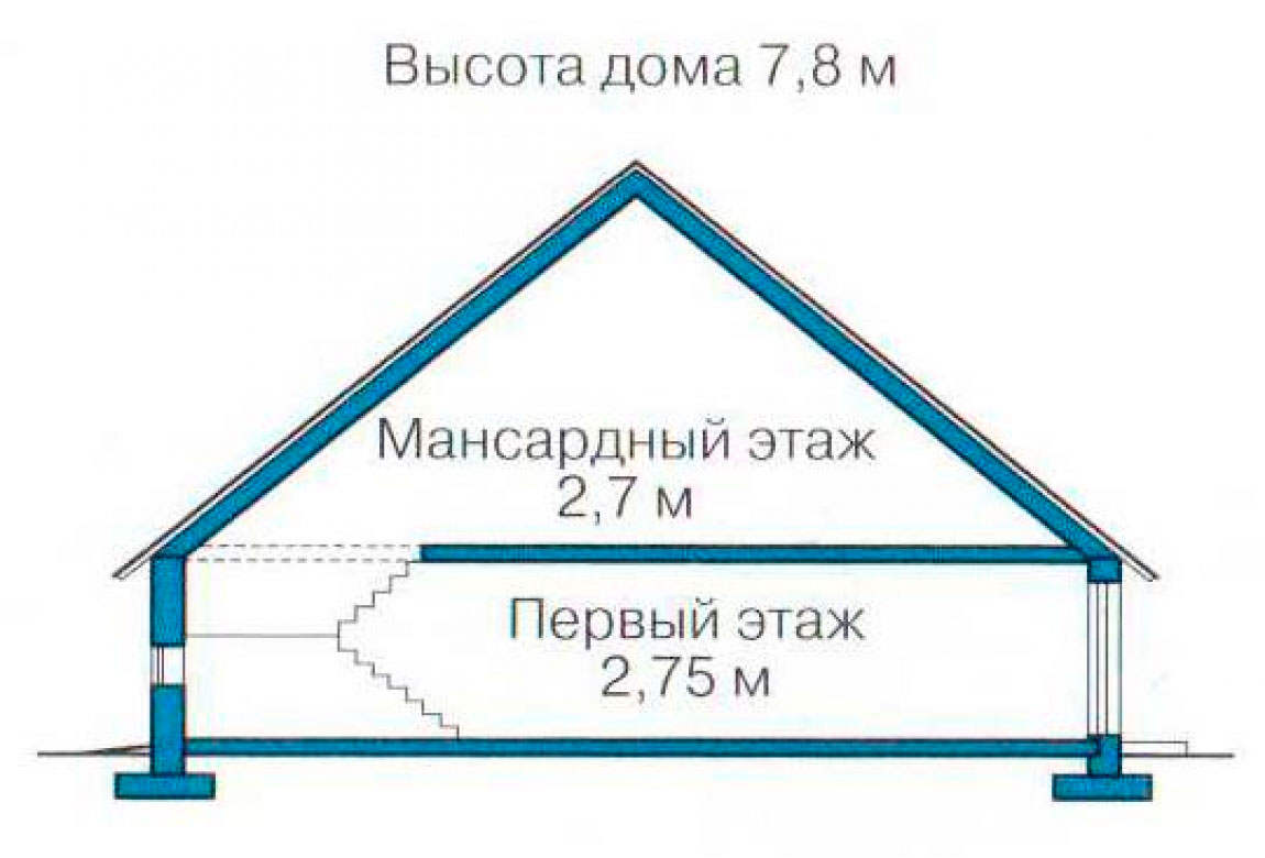 План N3 проекта дома из СИП-панелей АСД-1245