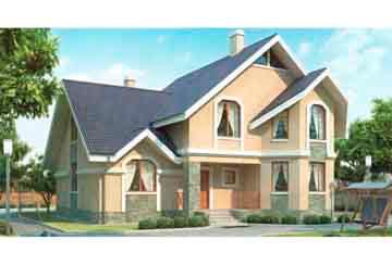 Проект кирпичного дома АСД-1025