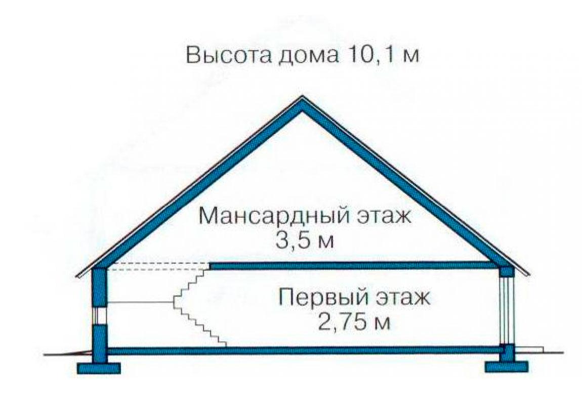 План N3 проекта дома из СИП-панелей АСД-1251