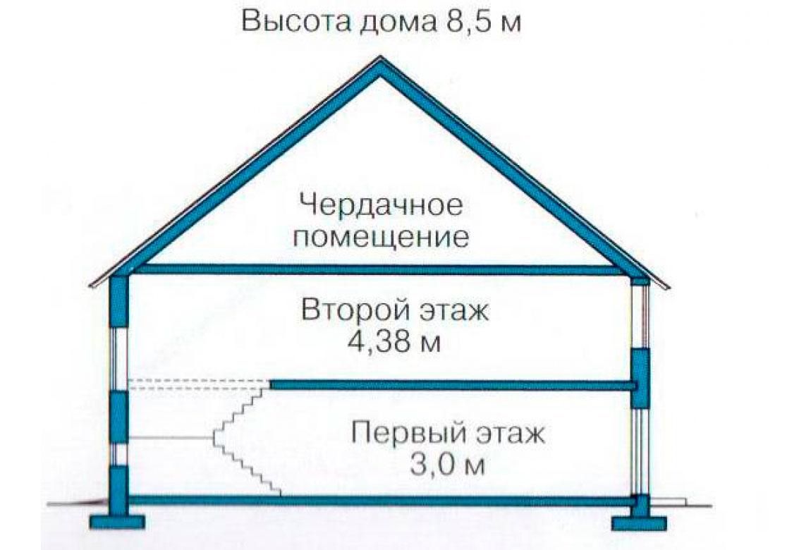 План N3 проекта дома из СИП-панелей АСД-1252