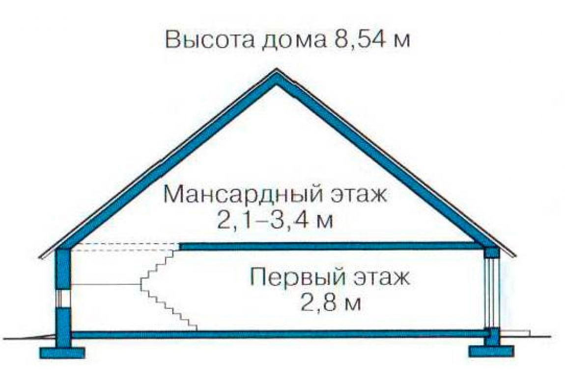План N3 проекта дома из СИП-панелей АСД-1253