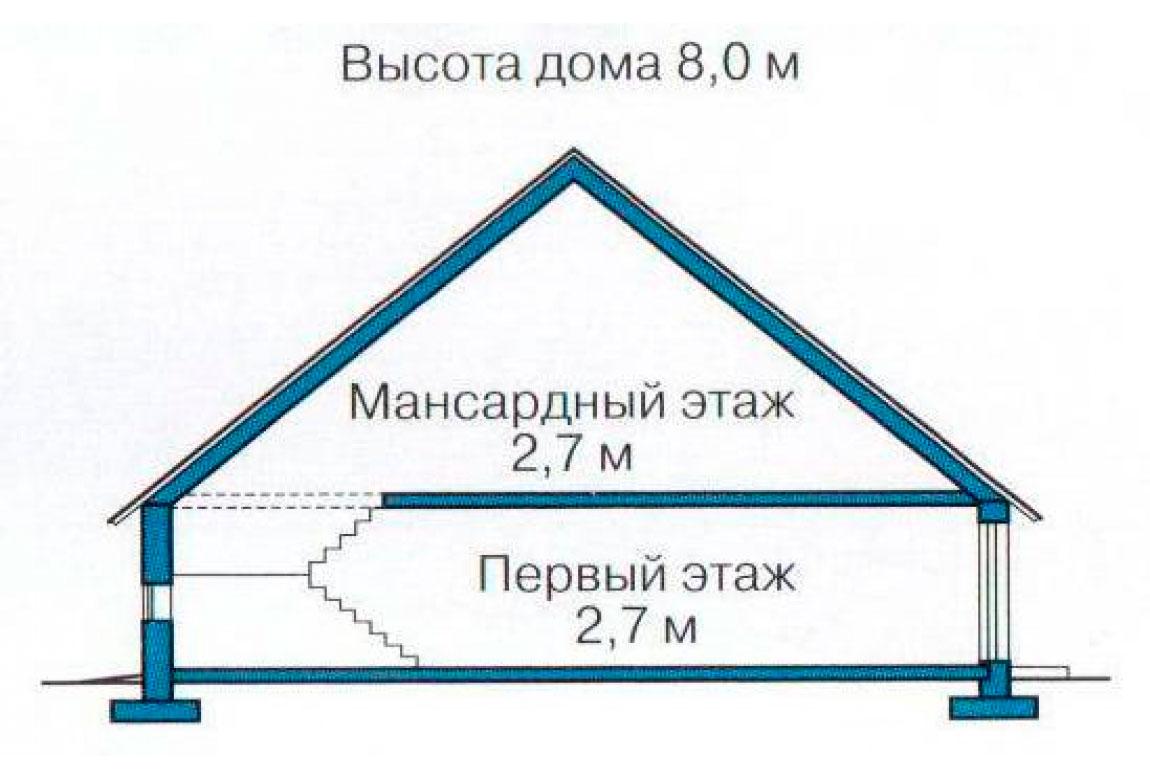 План N3 проекта дома из СИП-панелей АСД-1255