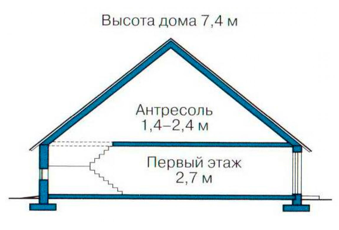 План N3 проекта дома из СИП-панелей АСД-1257
