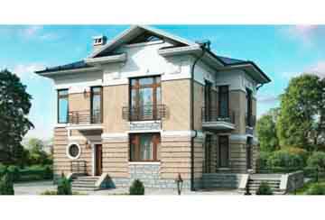 Проект кирпичного дома АСД-1026