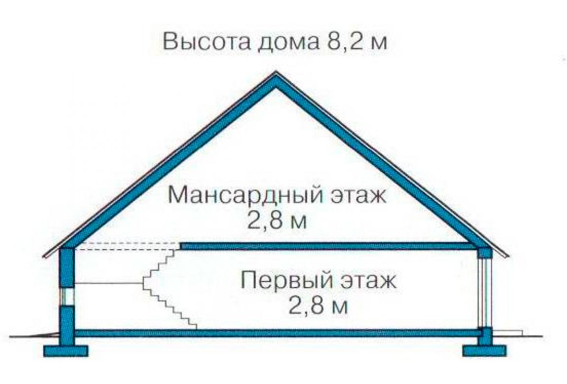 План N3 проекта дома из СИП-панелей АСД-1260