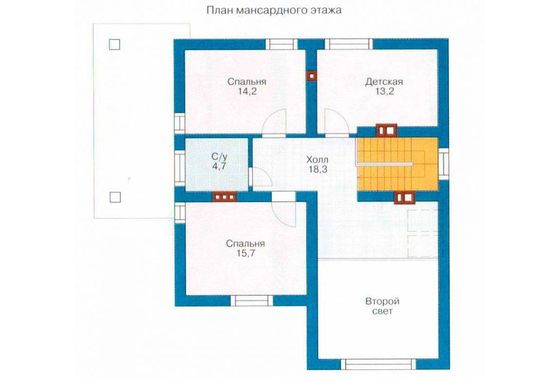 План N2 проекта дома из СИП-панелей АСД-1262