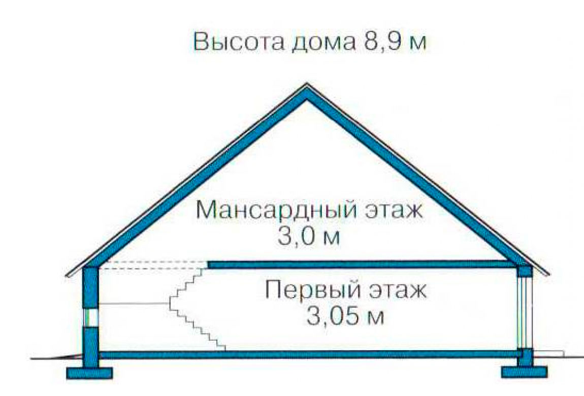 План N3 проекта дома из СИП-панелей АСД-1262