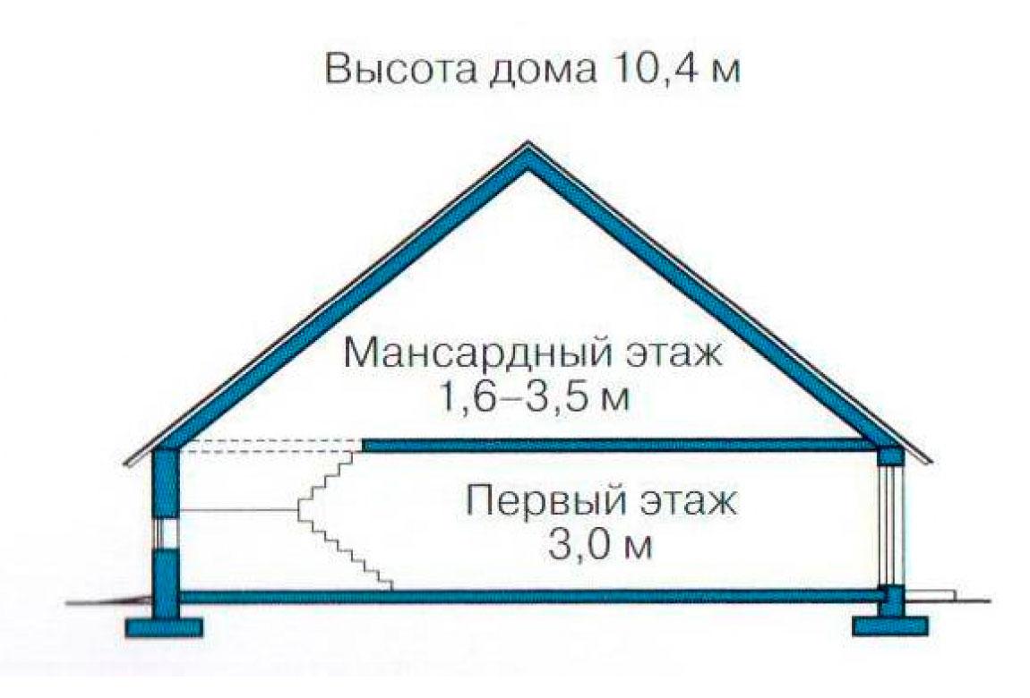 План N3 проекта дома из СИП-панелей АСД-1263