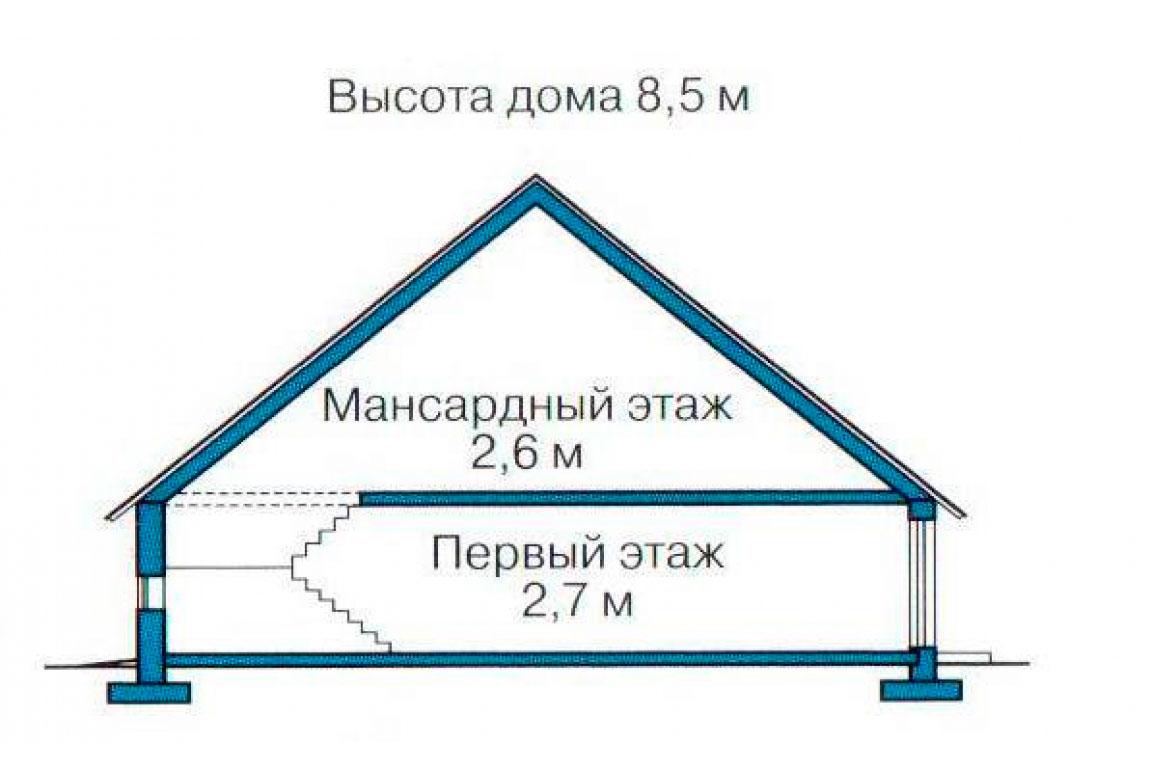 План N3 проекта дома из СИП-панелей АСД-1264