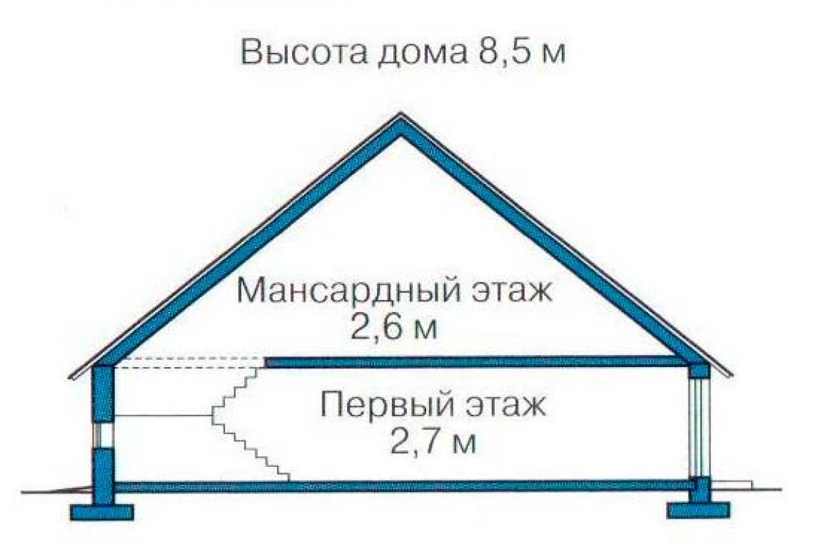 План N3 проекта дома из СИП-панелей АСД-1265