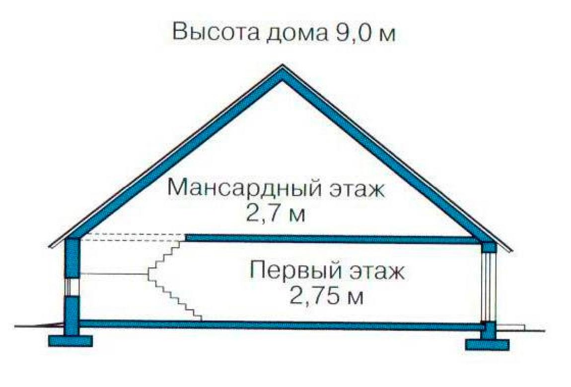 План N3 проекта дома из СИП-панелей АСД-1267