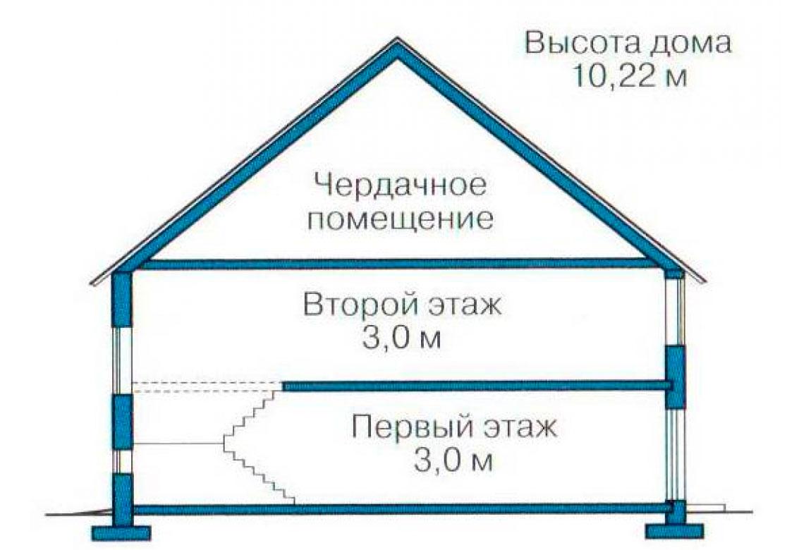 План N3 проекта дома из СИП-панелей АСД-1269