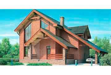 Проект кирпичного дома АСД-1027