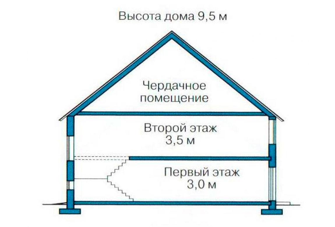 План N3 проекта дома из СИП-панелей АСД-1273
