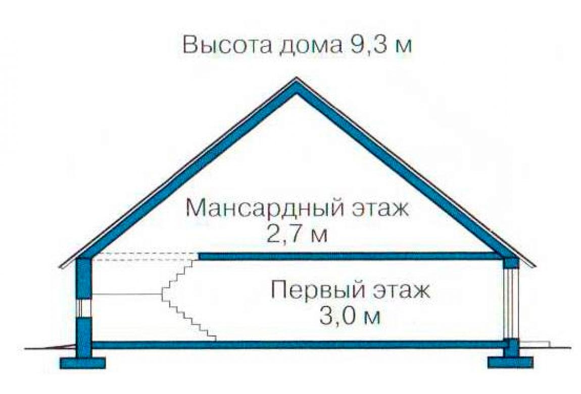 План N3 проекта дома из СИП-панелей АСД-1275