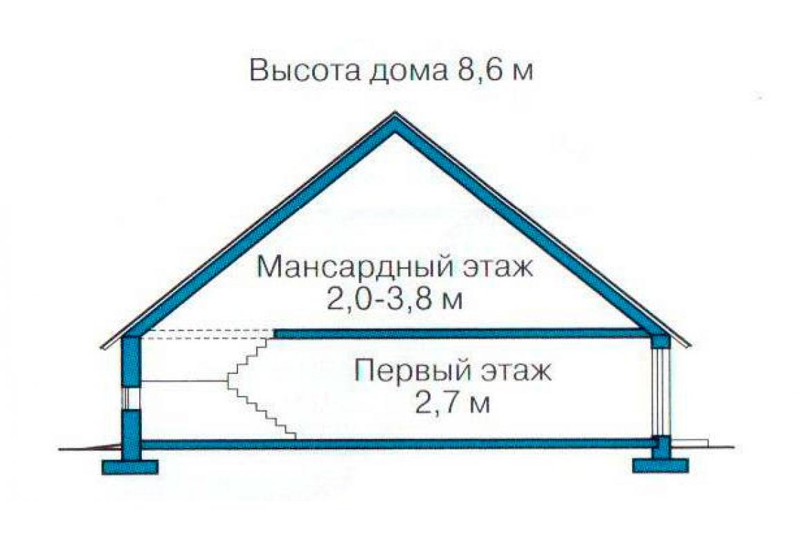 План N3 проекта дома из СИП-панелей АСД-1276
