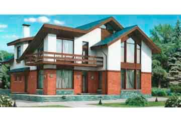 Проект кирпичного дома АСД-1028