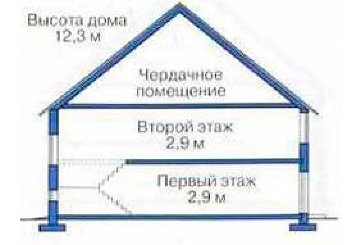 План N3 проекта дома из СИП-панелей АСД-1280