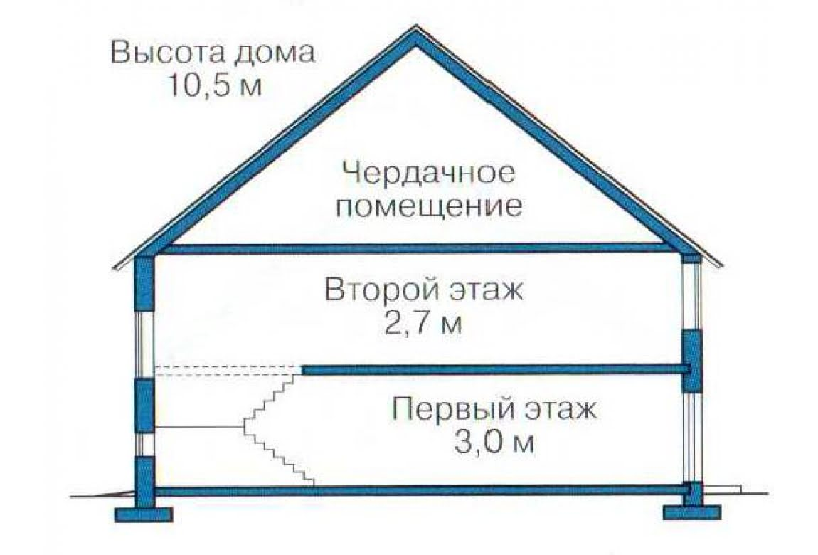 План N3 проекта дома из СИП-панелей АСД-1282