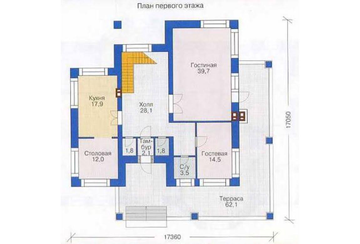 План N2 проекта дома из СИП-панелей АСД-1289