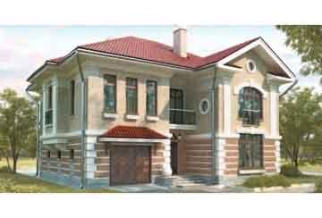 Проект кирпичного дома АСД-1029