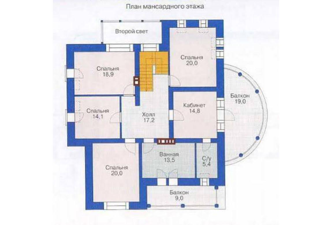 План N2 проекта дома из СИП-панелей АСД-1294